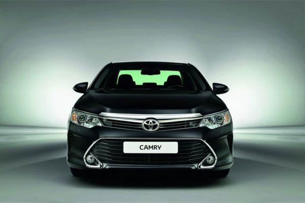 Фото новой Toyota Camry XV50