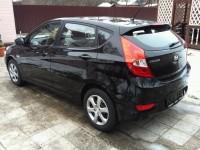 Hyundai Solaris хэтчбек черный