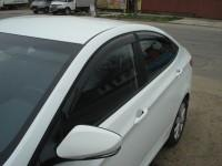 Дефлекторы на окна Хендай Солярис