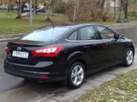Форд Фокус 3 седан черный