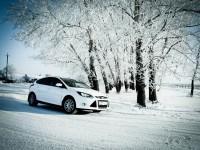 Форд Фокус 3 хэтчбек белый