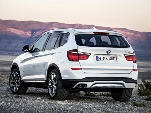 Фото нового BMW X3 (F25)