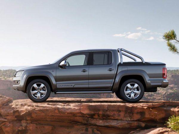 Новый кузов Volkswagen Amarok 2021