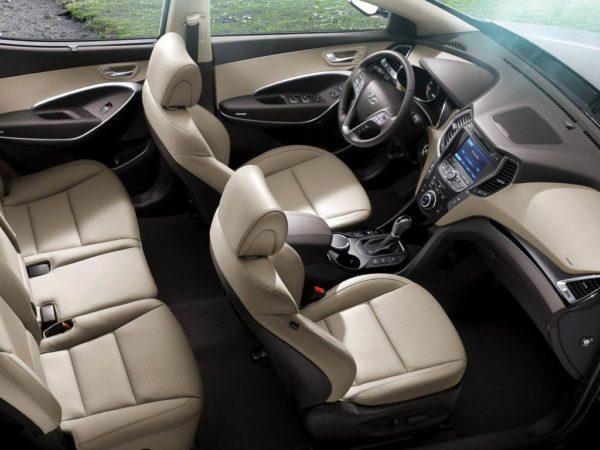 Фото салона Hyundai Santa Fe 3