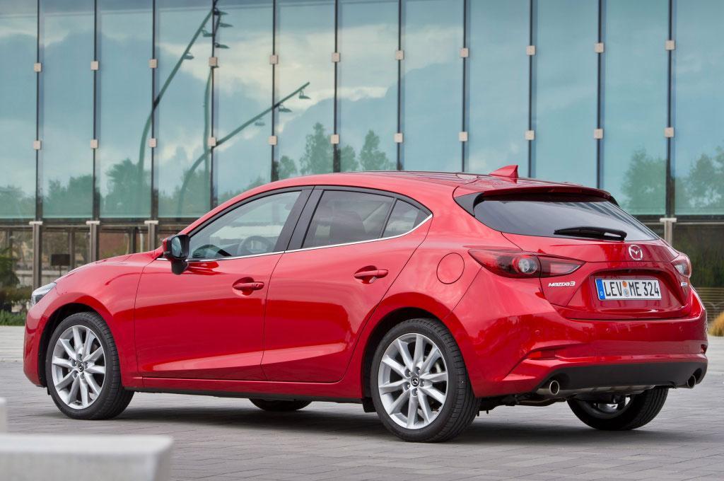 Экстерьер Mazda 3