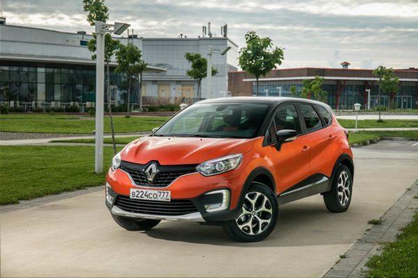 Renault Kaptur 2019 в новом кузове