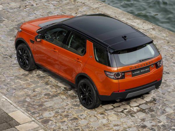 Фото нового Land Rover Discovery Sport
