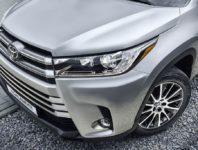 Фото Тойота Хайлендер 3 в новом кузове