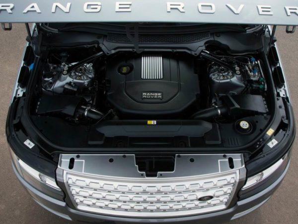 Двигатель Ленд Ровер Рендж Ровер 4
