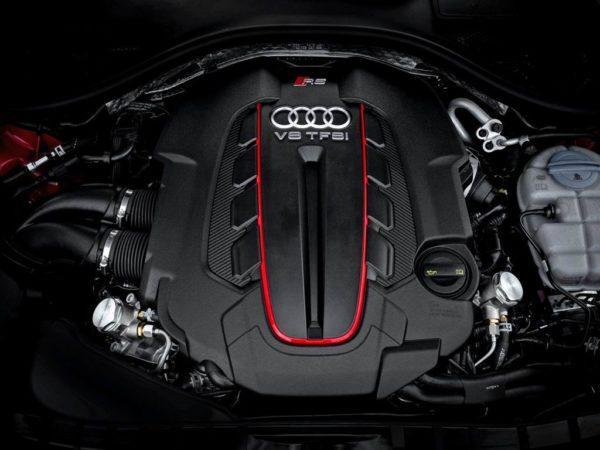 Двигатель Ауди RS6 Авант С7