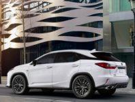 Фото Lexus RX F Sport в новом кузове