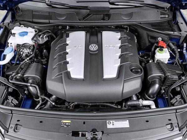 Двигатель Фольксваген Туарег 2