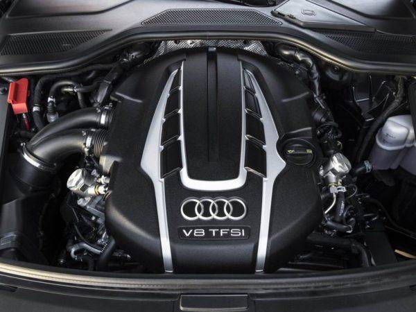 Двигатель Audi A8 в кузове D4