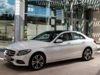 Фото Мерседес Ц-класса в новом кузове W205