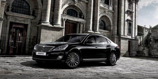 Hyundai Equus в новом кузове