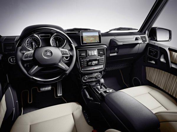 Салон Mercedes-Benz G-Klasse