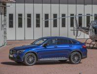 Фото нового Mercedes GLC Coupe