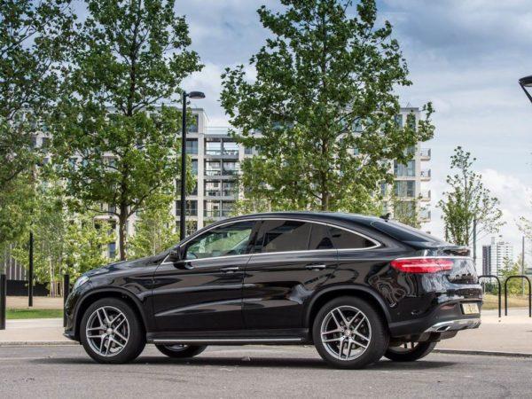 Новый Mercedes GLE Coupe