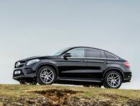 Фото нового Mercedes GLE Coupe