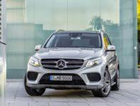 Фото нового Mercedes GLE