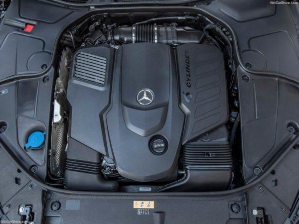 Двигатель S-класса W222