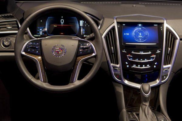 Интерьер Cadillac ATS