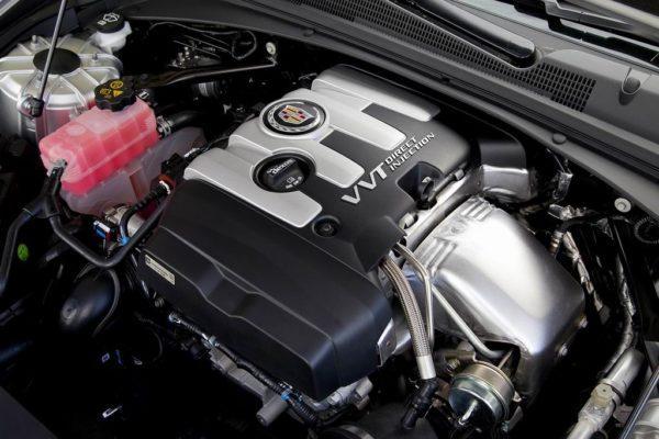 Двигатель Cadillac CTS