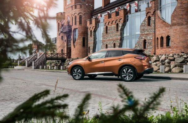 Фото нового Nissan Murano 3 (Z52)