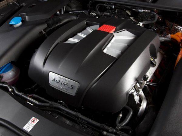 Двигатель Порше Кайен 958
