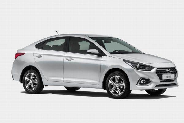 Hyundai Solaris 2020 года