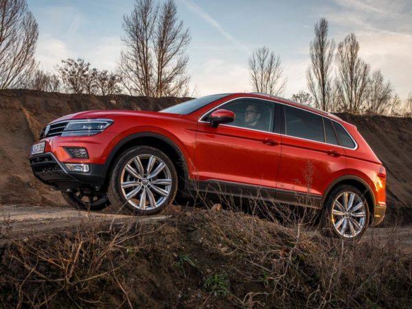 Новый кузов Volkswagen Tiguan 2020 года