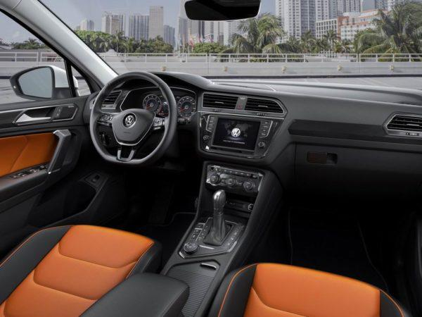 Салон Volkswagen Tiguan 2