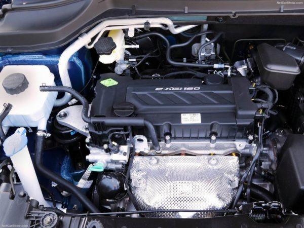 Двигатель на SsangYong Tivoli