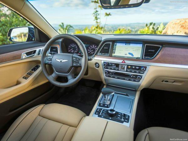 Genesis G80 2017-2018 - фото и цена, видео, характеристики новой модели Хендай Дженезис Джи 80