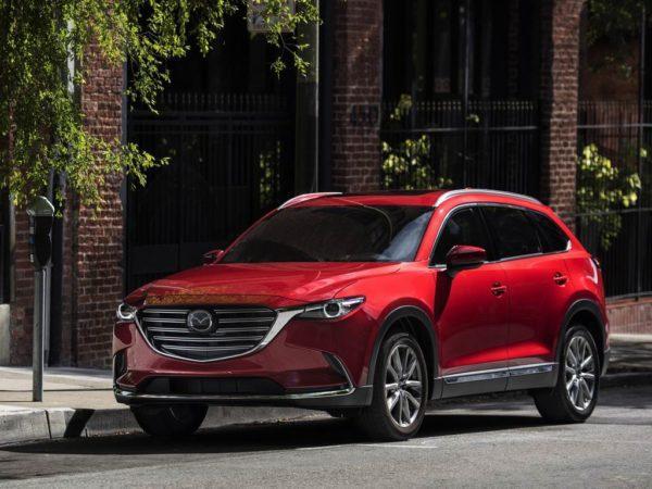 Новая Mazda CX-9