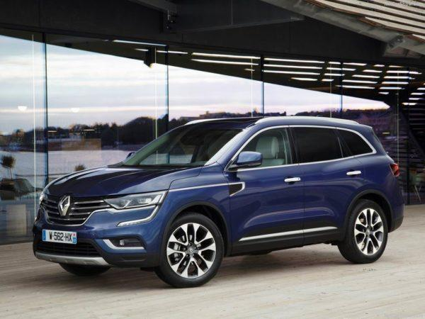 Renault Koleos в новом кузове
