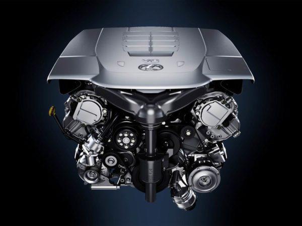 Двигатель Лексус LS 460