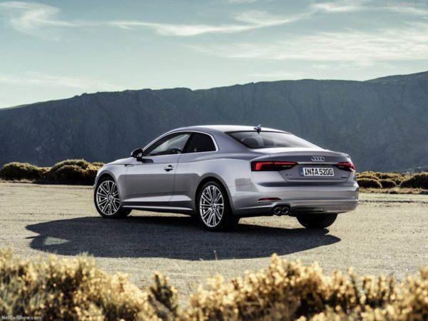 Ауди А5 купе в новом кузове