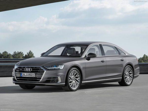 Новая модель Audi A8 D5