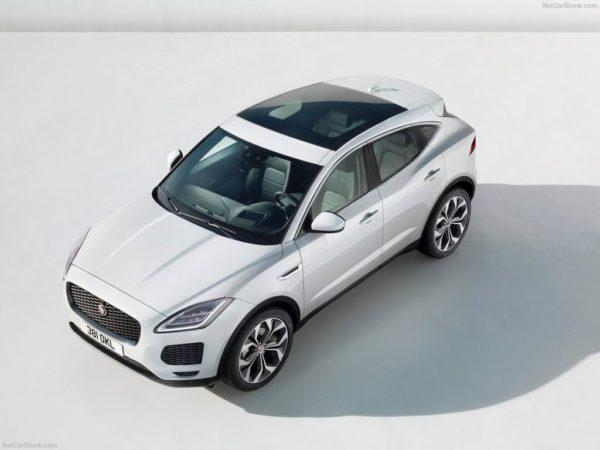 Новый Jaguar E-Pace