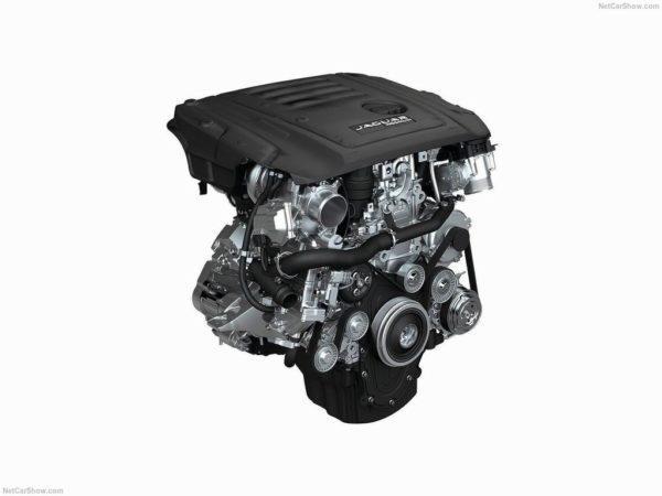Двигатель Ягуар Е-Пэйс