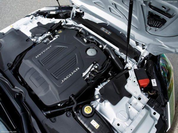 Двигатель Ягуар F-Type