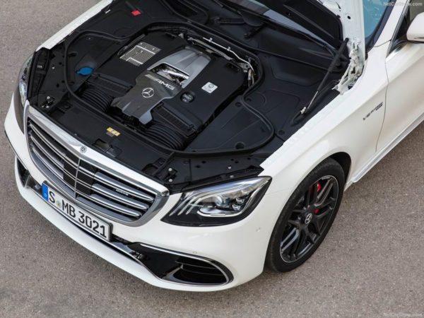 Двигатель нового S 63 AMG
