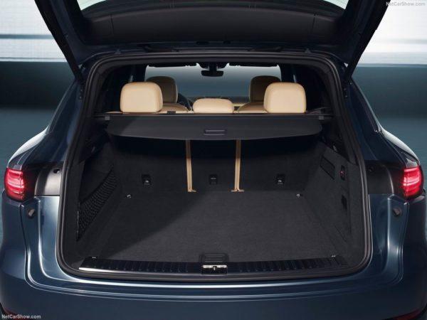 Багажник нового Кайена
