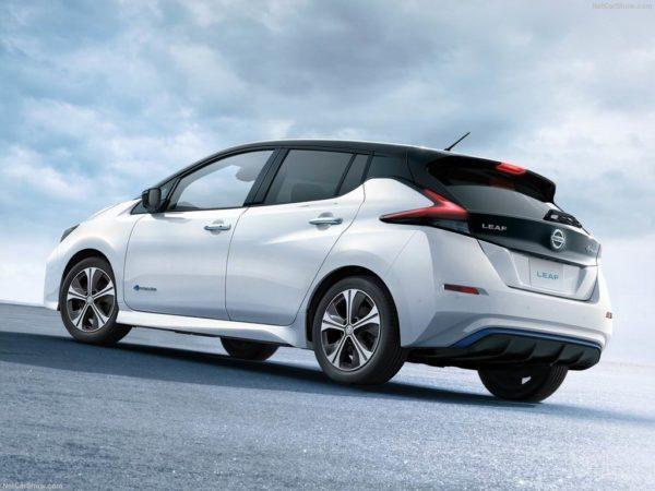 Nissan Leaf в новом кузове