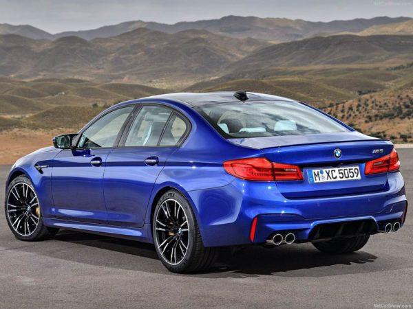 Новая модель BMW M5 F90