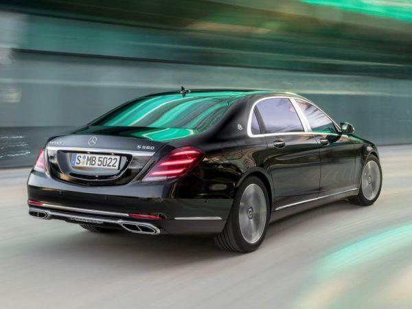 Новая модель Mercedes-Maybach S-Class