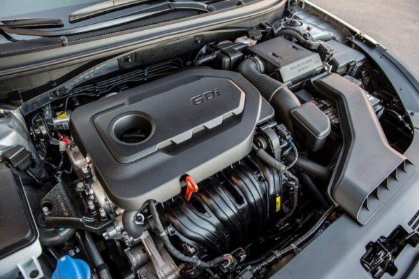 Двигатель Hyundai Sonata 7