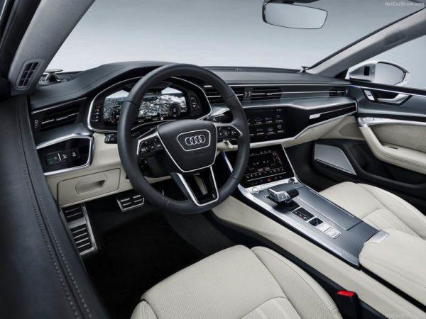 Салон нового Audi A7 Sportback II
