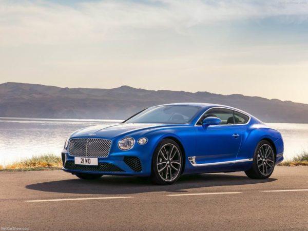 Новая модель Bentley Continental GT III